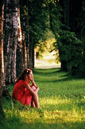 Daydreaming, by Kr. B.